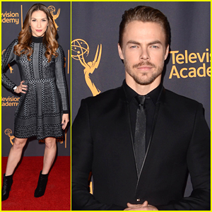 DWTS Pros Allison Holker & Derek Hough Celebrate Choreography at TV Academy Event