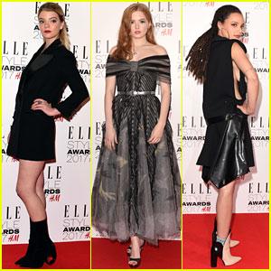 Anya Taylor-Joy, Ellie Bamber, & Sasha Lane Have a Night Out at Elle Style Awards!