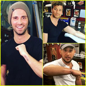 'Baby Daddy' Cast Gets Matching Tattoos to Celebrate 100th Episode!