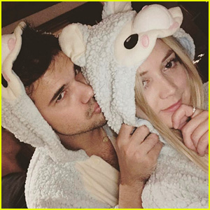 Taylor Lautner's Girlfriend Billie Lourd Sends Birthday Wishes!