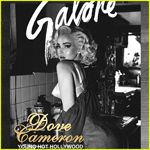 Dove Cameron Channels Marilyn Monroe In Fab 'Galore' Cover Shoot