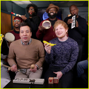 Ed Sheeran Recreates 'Shape of You' Using Classroom Instruments (Video)
