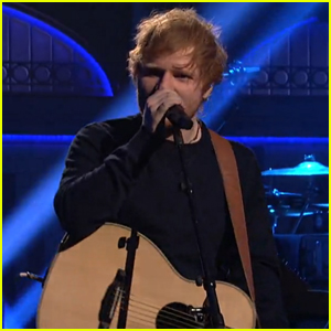 Ed Sheeran Takes the Stage at 'Saturday Night Live' - Watch It!