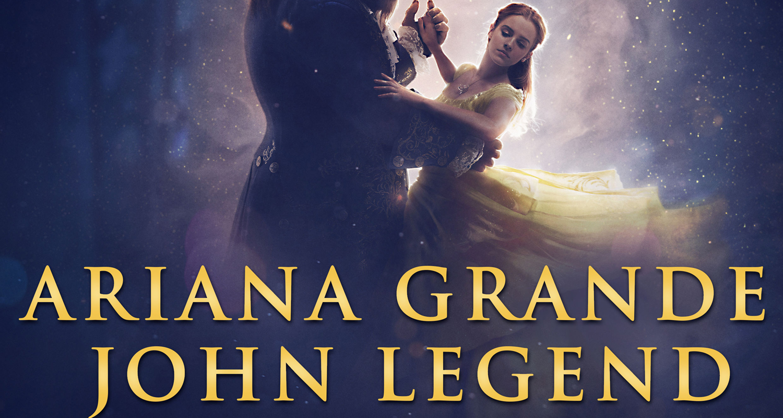 Ariana Grande & John Legend Premiere 'Beauty And The Beast