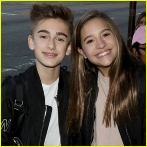 Johnny Orlando & Mackenzie Ziegler Spark More Dating Rumors