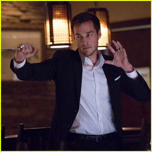 Chris Wood Returns to 'The Vampire Diaries' as Kai in New Photos!