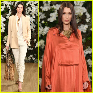Kendall Jenner & Bella Hadid Stun on the 'Ralph Lauren' Runway