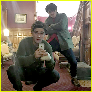 Riverdale's KJ Apa & Cole Sprouse Are Inseparable After First Season Wrap