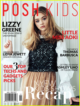 Lizzy Greene Combats Bullying With New 'Posh Kids' Magazine Cover