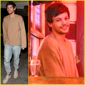 Louis Tomlinson Checks Out Pal James Arthur's Concert in Hollywood