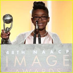 'black-ish' Star Marsai Martin Wins Big at NAACP Image Awards!
