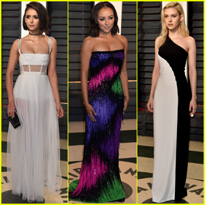 Nina Dobrev & Kat Graham Party Together After the Oscars 2017!