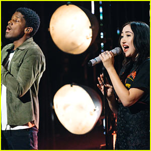 Noah Cyrus & Labrinth Perform Their Hit Song 'Make Me (Cry) on 'The Late Late Show'!