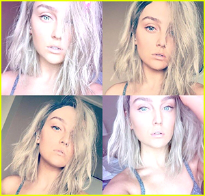 Perrie Edwards Chops Hair Just Before Little Mix's Tour with Ariana Grande