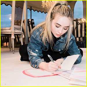 Sabrina Carpenter is Changing Lives One Letter at a Time