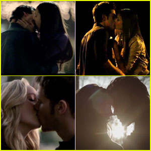 10 Unforgettable First Kisses From 'The Vampire Diaries' Couples
