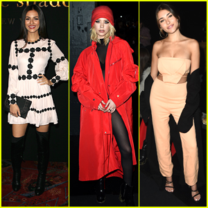 Victoria Justice, Madison Beer & Amanda Steele Hit Their First Fashion Shows for NYFW