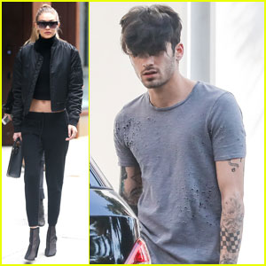 Gigi Hadid Misses Zayn Malik While Working on Different Coasts