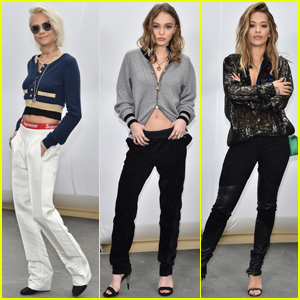 Cara Delevingne, Lily-Rose Depp & Rita Ora Get Up Close at 'Chanel' Show