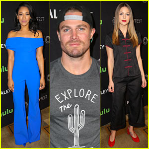 The Flash's Candice Patton Blows a Kiss at PaleyFest, Reveals Spoilers!
