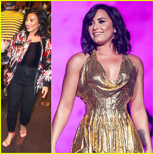 Demi Lovato Surprises Crowd at 'Smurfs' Screening in Hometown!