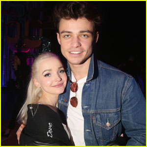 Dove Cameron Reunites with Thomas Doherty in Ireland