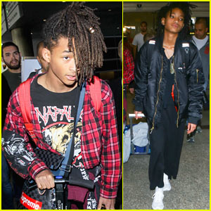 Jaden & Willow Smith Show Off Their Cool Airport Style!