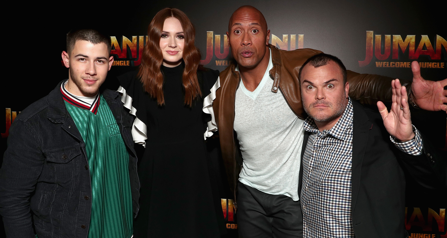 jumanji 2017 actors