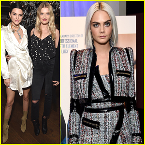 Kendall Jenner Supports BFF Cara Delevingne at 'Valerian' Trailer Viewing Party!