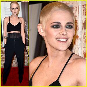 Prime Kristen Stewart Cuts All Her Hair Off Dyes Shaved Head Blonde Short Hairstyles Gunalazisus