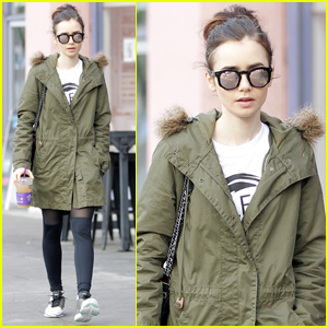 Lily Collins Reveals She Likes to Date 'Mysterious Creatives'