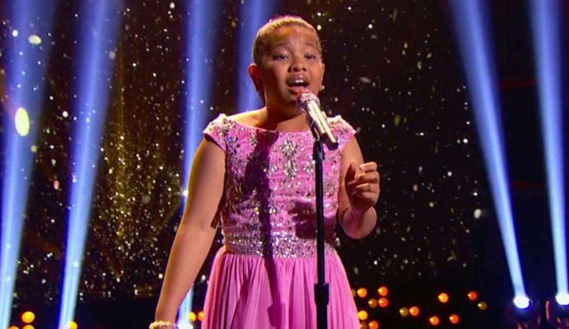 Elha Nympha 12 Sings Chandelier Sounds Amazing Little Big Shots Just Jared Jr