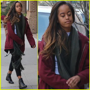 Malia Obama Is Ready For Another Day at Her Internship