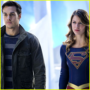Melissa Benoist & Chris Wood Confirm They're Dating by Kissing at the Beach!