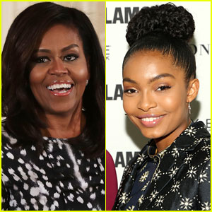 Michelle Obama Penned Yara Shahidi's College Recommendation Letter!