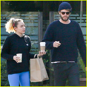 Miley Cyrus And Her Husband