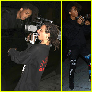 Moises Arias Films BFF Jaden Smith For New Video