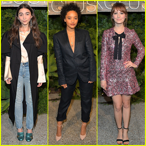 Rowan Blanchard, Kiersey Clemons, & Ahna O'Reilly Look Cool at the H&M Conscious Exclusive Dinner!