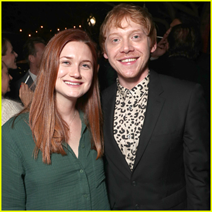 Rupert Grint Reunites With Bonnie Wright at 'Snatch' Premiere