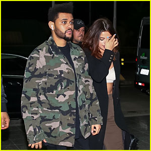Selena Gomez & The Weeknd Keep it Low-Key in Brazil