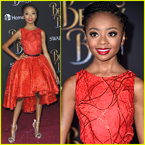 Skai Jackson & Cameron Boyce Join 'Andi Mack' Cast at 'Beauty & The Beast' Premiere