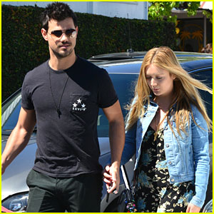 Taylor Lautner Keeps Close To Billie Lourd Just Days Ahead of Public Memorial For Her Mom Carrie Fisher