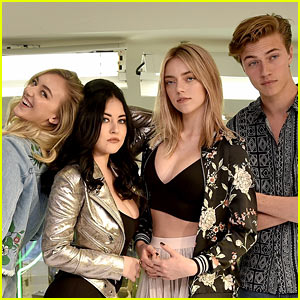 Lucky Blue Smith & The Atomics Drop New Lyric Video for 'Voulez Vous' - Watch Now!