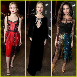 Zoey Deutch Premieres 'Before I Fall' With Halston Sage & Cast in Los Angeles