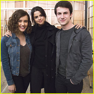 The '13 Reasons Why' Cast Rave About Working With Selena Gomez