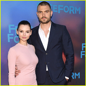 Alex Roe Shaves Head For Freeform Upfronts
