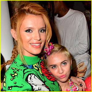Bella Thorne Would 'Die for' Miley Cyrus's Look!