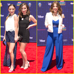 Brooklyn & Bailey Beat The Heat With Super Cute Looks at RDMAs 2017