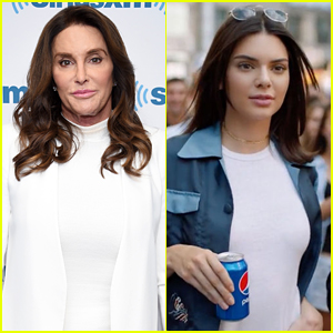 Caitlyn Jenner Reacts to Daughter Kendall's Pepsi Commercial