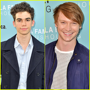 Cameron Boyce Takes Night Off From 'Descendants' DWTS Rehearsals For LA Family Housing Event